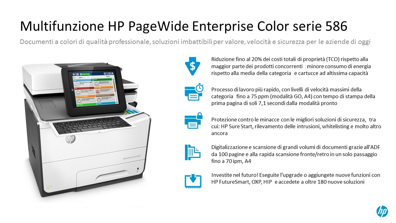 HP PAGEWIDE 586